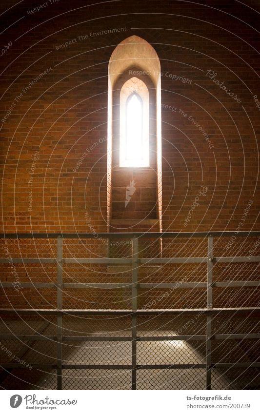 Klosterfrauen-Suchbild ruhig Erholung Wand Fenster Stein Mauer Zufriedenheit Religion & Glaube Beleuchtung Architektur Hoffnung Kirche Frieden Turm Backstein