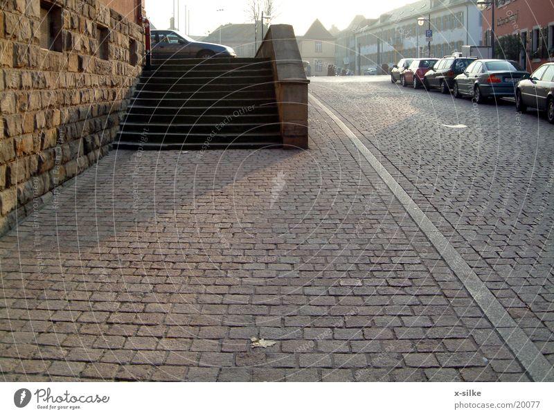 pflaster Straße Wege & Pfade Verkehr Treppe Pflastersteine