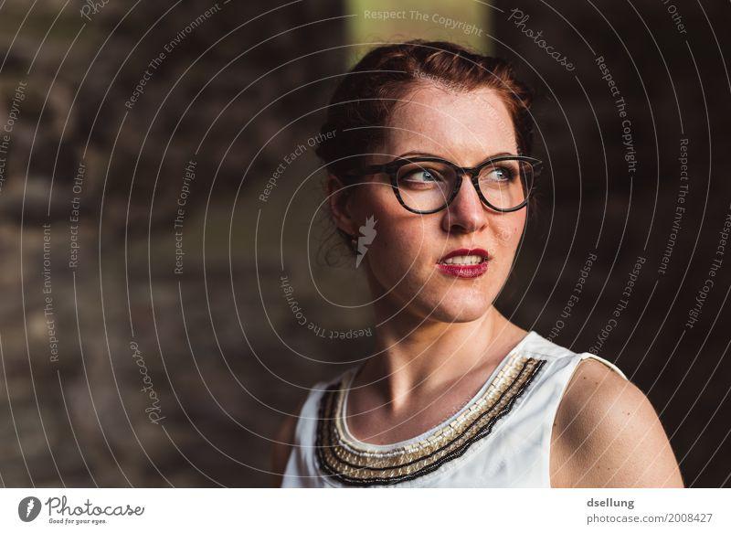 sonne. Mensch Jugendliche Junge Frau schön 18-30 Jahre Erwachsene Lifestyle feminin Stil Mode Design Zufriedenheit elegant ästhetisch Lächeln Beginn