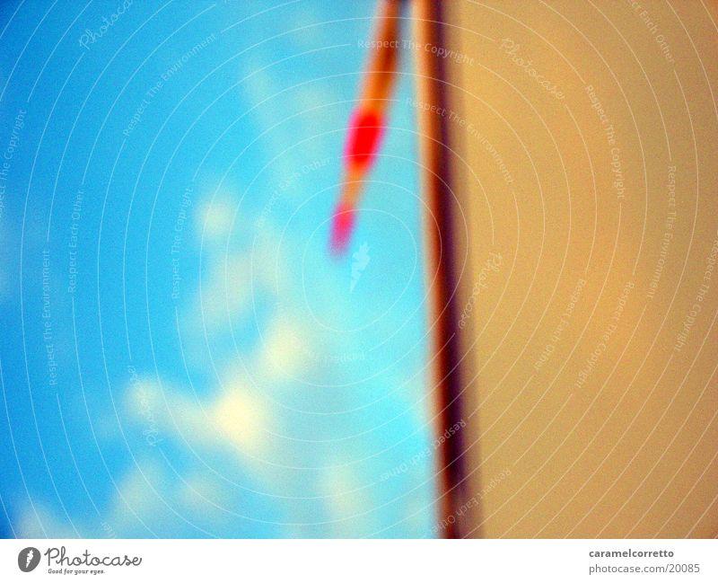 Windrad 02 Himmel rot Wolken Industrie Windkraftanlage