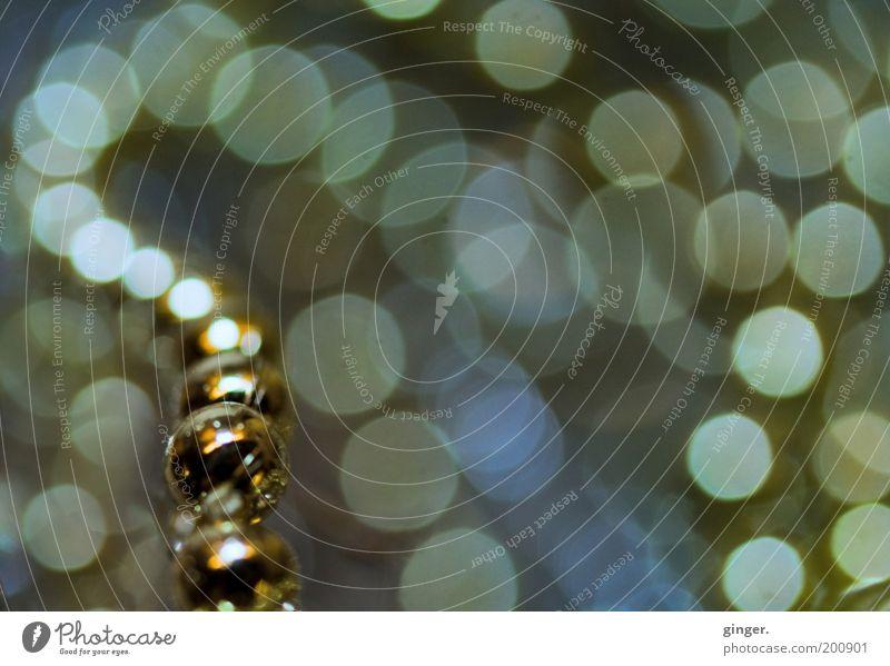 Dorit's Secret Kunst Kugel glänzend Unendlichkeit schön Kitsch gold Kette Schmuck Weihnachtsdekoration Punkt fortsetzen biegen Kurve Dekoration & Verzierung