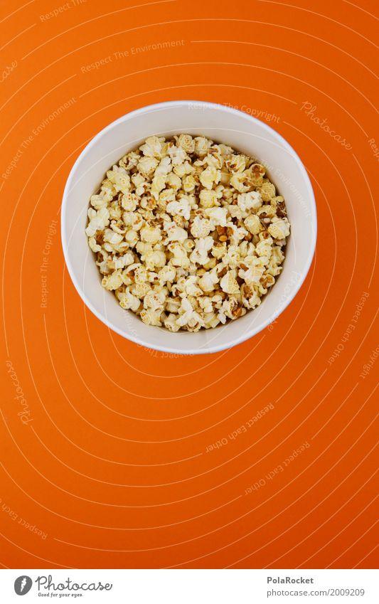 #A# Popcornkino Kunst ästhetisch Popkorn Kino Kinofilm Kinoprogramm orange ungesund lecker Snack Snackbar süß Süßwaren Süßwarengeschäft Süßwarenstand Fastfood