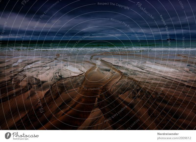Darknet, Küste Wattenmeer Sinnesorgane Strand Meer Insel Wellen Natur Landschaft Urelemente Sand Luft Wasser Klima schlechtes Wetter Unwetter Nordsee Ostsee alt