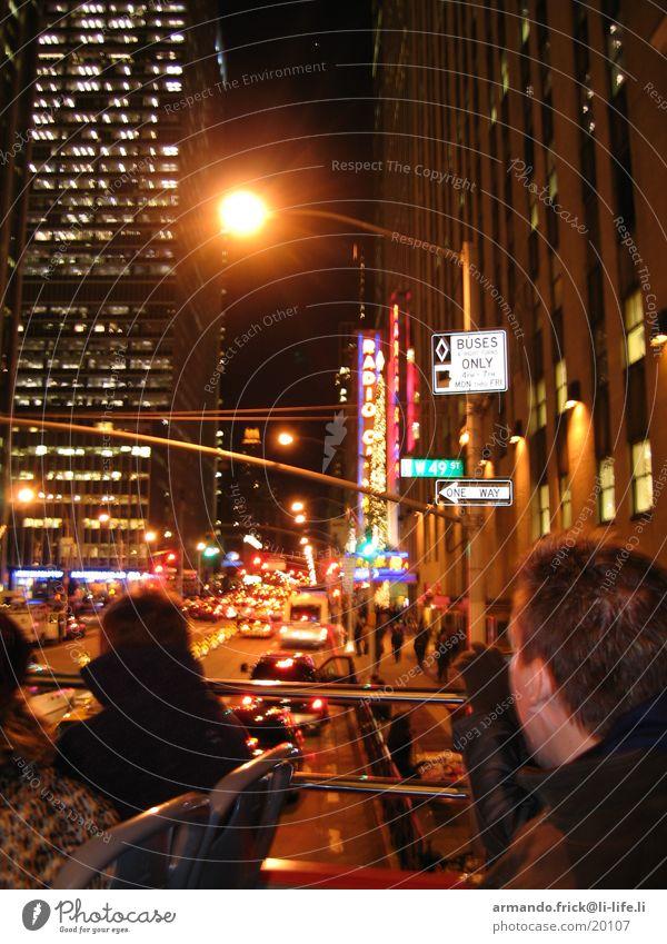 Broadway Mensch Ferien & Urlaub & Reisen unterwegs Nordamerika