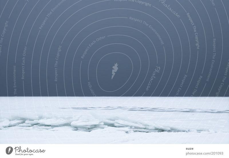 Horizont Umwelt Natur Landschaft Urelemente Luft Himmel Wolkenloser Himmel Winter Klima Sturm Nebel Eis Frost Schnee Küste Ostsee Meer Insel Linie