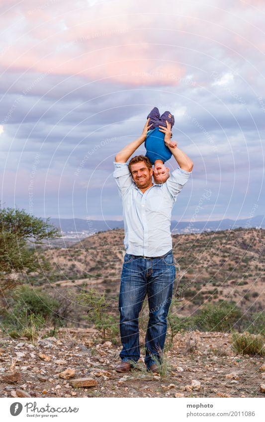 Hals über Kopf #2 Freude Kindererziehung Mensch maskulin Baby Junge Mann Erwachsene Eltern Vater Familie & Verwandtschaft Kindheit Leben 1-3 Jahre Kleinkind