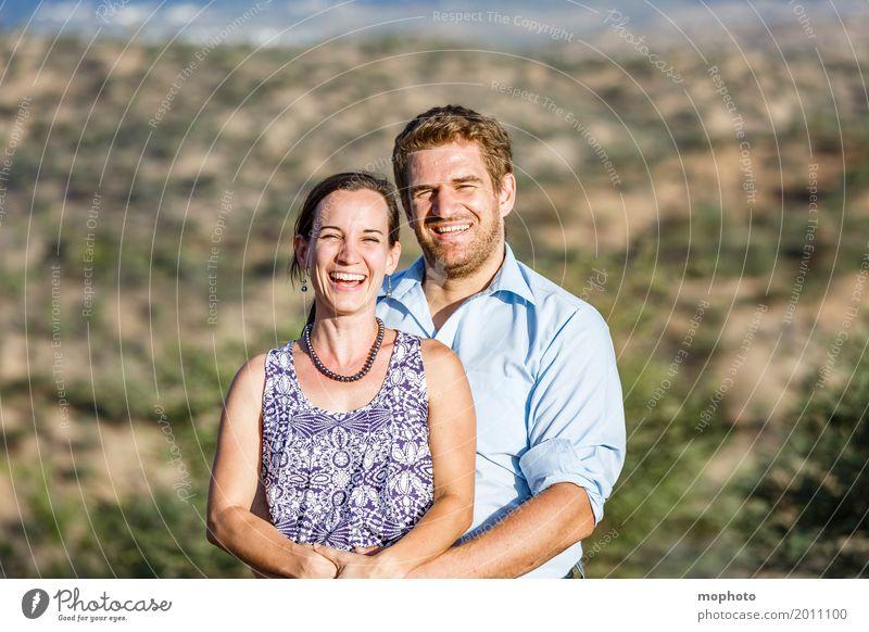 Glückliches Ehepaar #1 Lifestyle Freude Mensch Junge Frau Jugendliche Junger Mann Erwachsene Paar Partner Leben 2 30-45 Jahre Park Lächeln lachen Liebe Umarmen