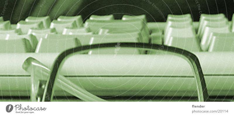 arbeit Brille Arbeit & Erwerbstätigkeit grün Makroaufnahme Nahaufnahme Tastatur Business