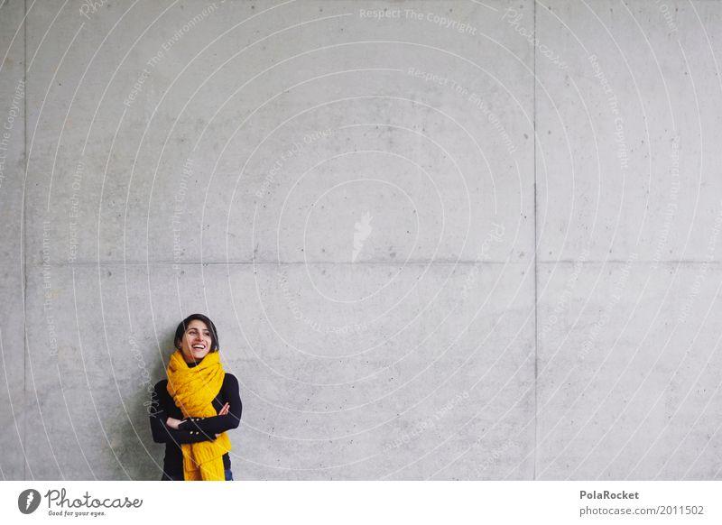 #A# Good Future feminin 1 Mensch ästhetisch Karriere Beruf Berufsausbildung Berufsleben Freude Schal Mode Architekt Architektur beweglich lachen positiv