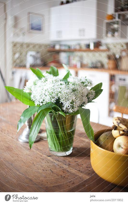 bärlauch Wohnung Häusliches Leben Dekoration & Verzierung ästhetisch Tisch einfach Freundlichkeit Küche Blumenstrauß Duft Schalen & Schüsseln