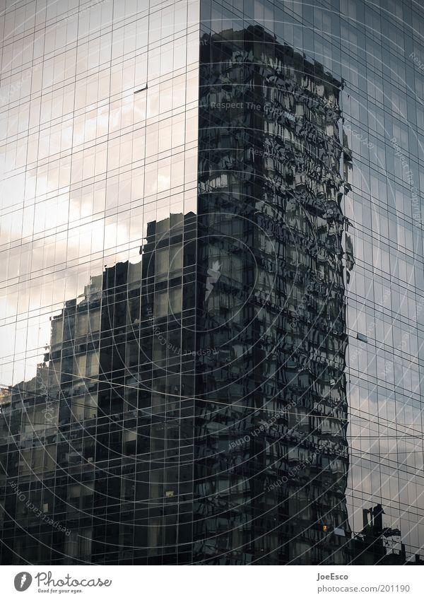 ny - city of dreams... Skyline Haus Architektur Fassade Coolness trendy kalt schön Stadt komplex Reflexion & Spiegelung Hochhaus Hochhausfassade New York City