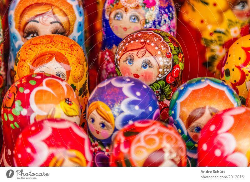 Matroschka Lifestyle elegant Kunst Sehenswürdigkeit Wahrzeichen alt Bekanntheit historisch schön Ferien & Urlaub & Reisen gold Farbfoto Menschenleer Russland