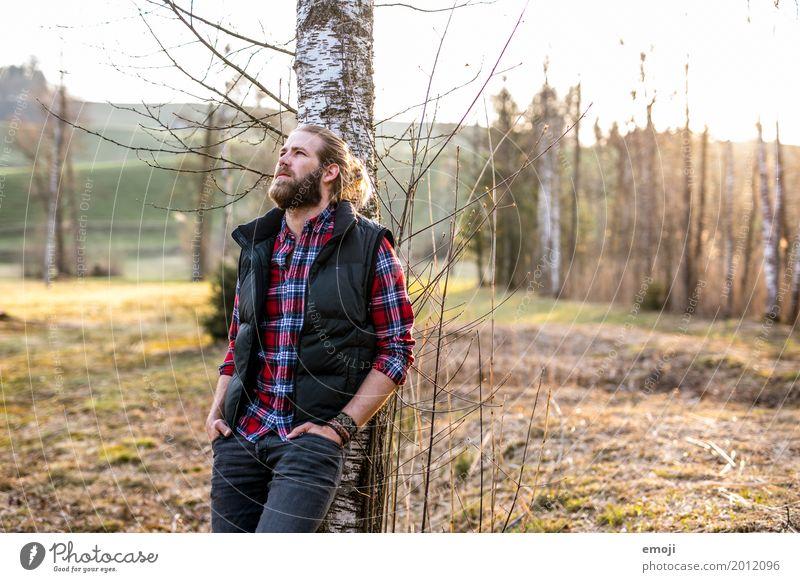be. maskulin Junger Mann Jugendliche Erwachsene 1 Mensch 18-30 Jahre 30-45 Jahre Umwelt Natur Coolness natürlich Naturliebe Hipster wandern Freizeit & Hobby