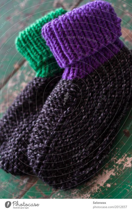 warme Füße Wärme Freizeit & Hobby Schuhe weich frieren Strümpfe kuschlig Wolle Handarbeit stricken Hausschuhe Wollsocke