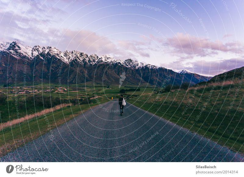 Umgeben von Bergen Lifestyle Freude Wellness Leben harmonisch Wohlgefühl Zufriedenheit Sinnesorgane Erholung Ferien & Urlaub & Reisen Ausflug Abenteuer Ferne