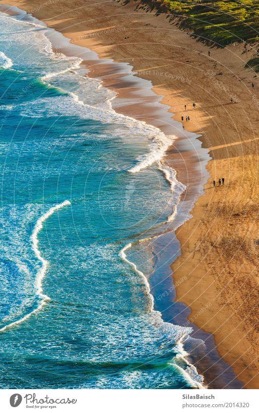 Natur Ferien & Urlaub & Reisen Sommer Farbe Meer Freude Strand Leben Lifestyle Küste Freiheit Ausflug Wellen elegant Insel Schönes Wetter