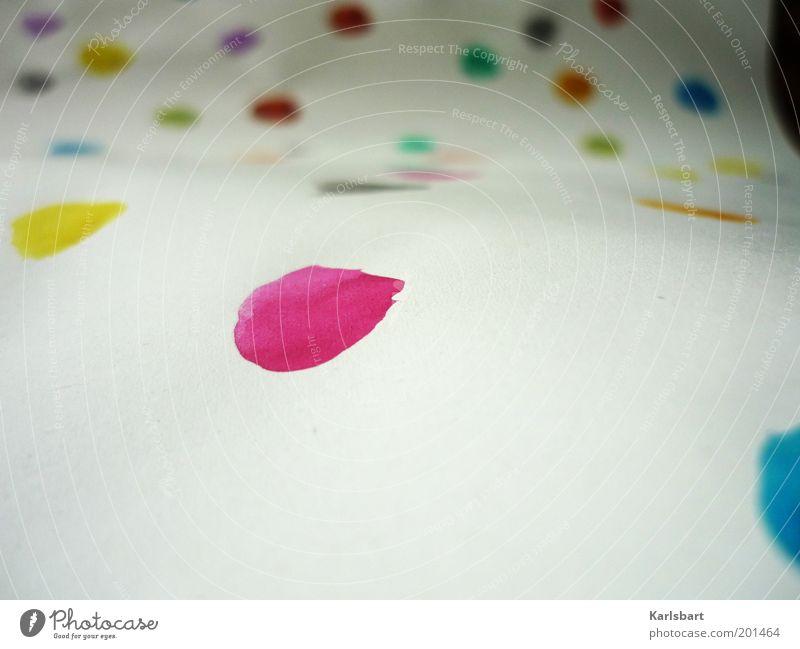 cmyk. Spielen Stil Kunst Freizeit & Hobby Kindheit Design Papier Studium Lifestyle Bildung malen Punkt Kreativität Kindergarten Fleck Printmedien