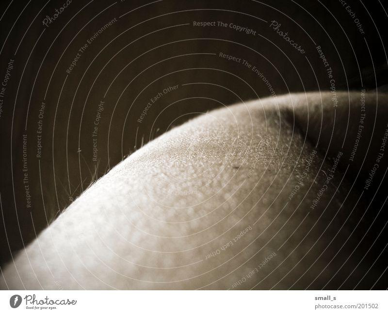 Sie ist nicht ich. Mensch Leben 1 Gelassenheit Sinnesorgane Farbfoto Nahaufnahme Experiment Hintergrund neutral Tag Schwache Tiefenschärfe Oberkörper