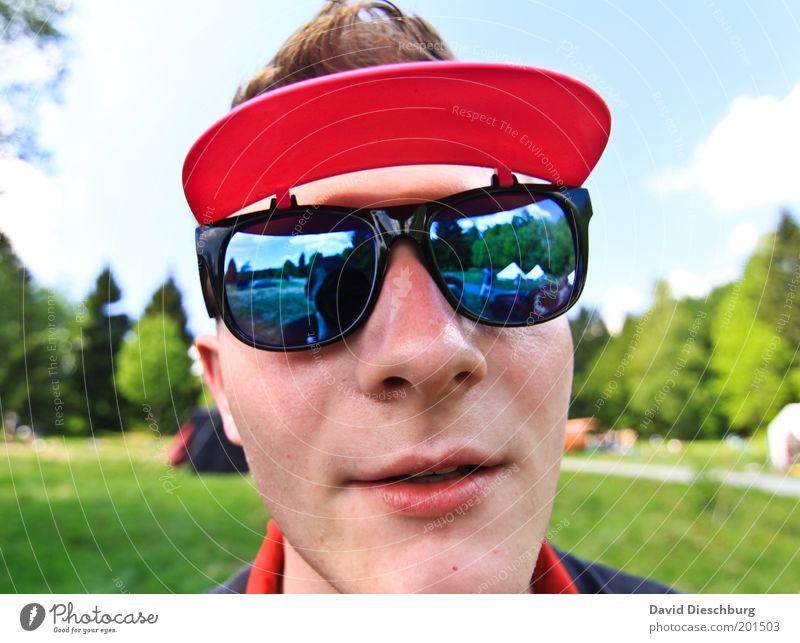 Nina Hagens Modeberater Mensch Jugendliche grün Sommer Erwachsene Gesicht Kopf Stil lustig Junger Mann rosa 18-30 Jahre Mund Nase einzeln Lippen