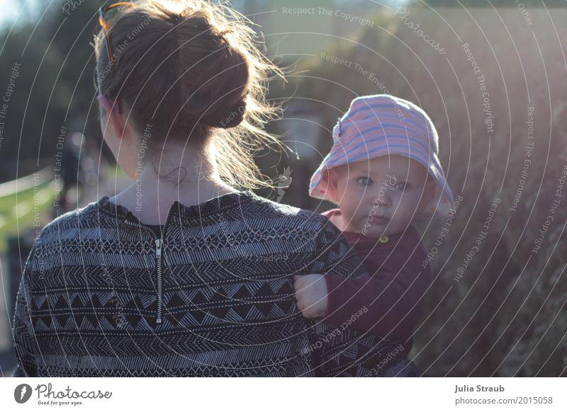 ja hallo Mensch Frau Ferien & Urlaub & Reisen Mädchen schwarz Erwachsene Frühling feminin Familie & Verwandtschaft Garten Tourismus rosa gehen Park Kindheit