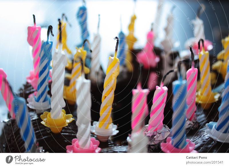 Geburtstagskerzen Lebensmittel Teigwaren Backwaren Ernährung Feste & Feiern Dekoration & Verzierung Kerze Wunsch Kerzendocht Geburtstagstorte Kuchen
