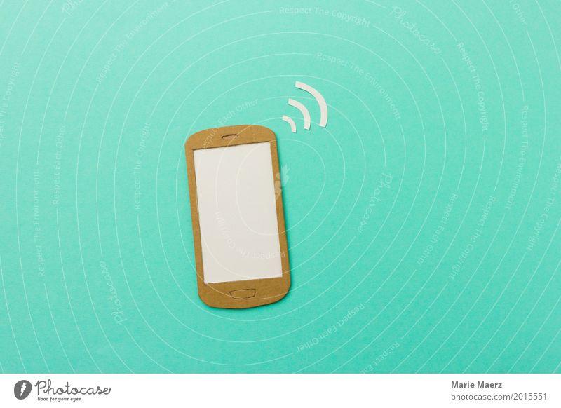 Im Netz modern Kommunizieren Geschwindigkeit kaufen Information Sicherheit Netzwerk Internet Handy türkis Stress Verbindung Mobilität Computernetzwerk Teamwork