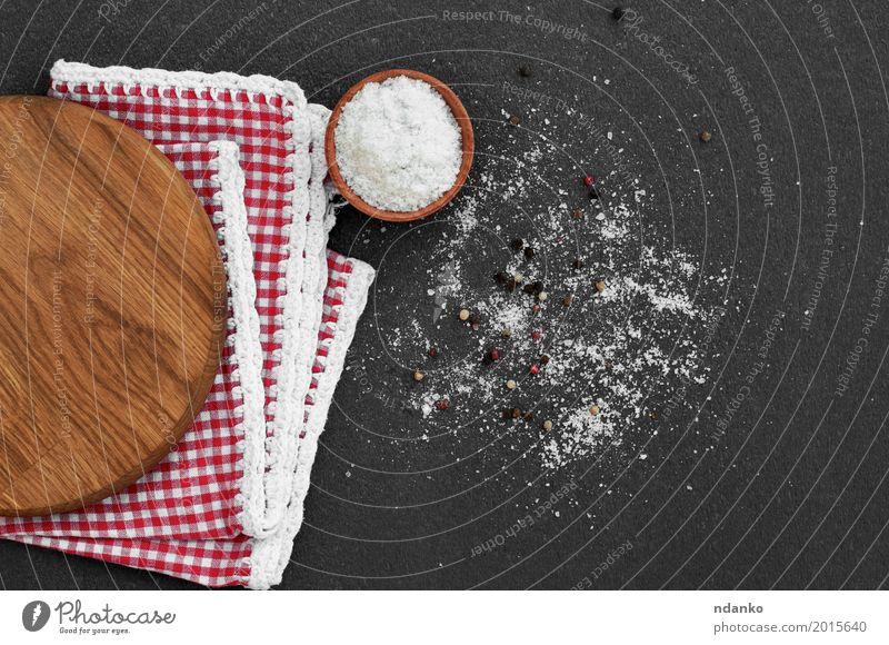 weiß rot schwarz Essen natürlich Holz Ernährung Aussicht Kräuter & Gewürze Küche Vegetarische Ernährung aromatisch Kristalle Essen zubereiten rustikal Zutaten
