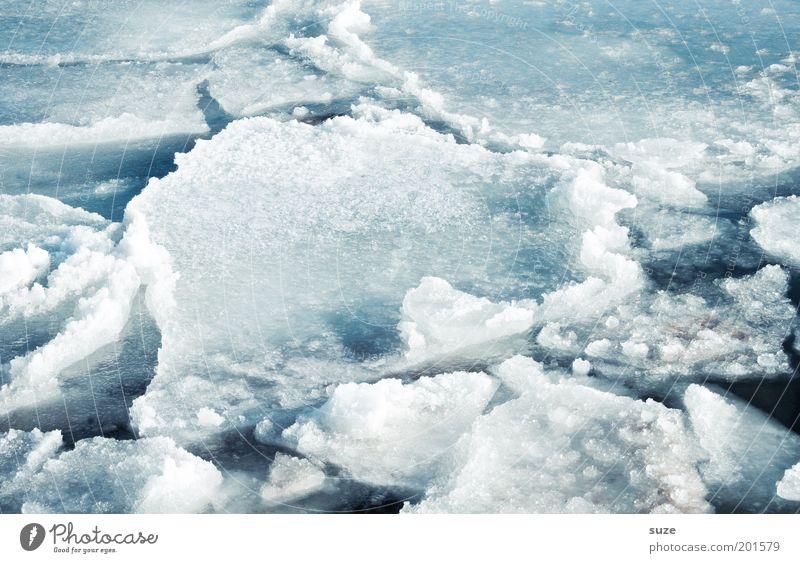 Ostseeeis Natur blau Wasser weiß Meer Einsamkeit Winter Landschaft Umwelt kalt Schnee Küste Eis außergewöhnlich Klima nass