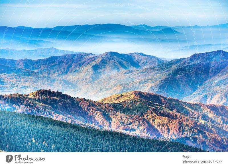 Berge und Hügel Ferien & Urlaub & Reisen Tourismus Abenteuer Ferne Sommer Sonne Berge u. Gebirge Natur Landschaft Himmel Wolken Sonnenaufgang Sonnenuntergang