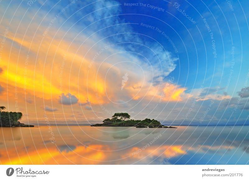 Natur schön Sommer Strand Landschaft Umwelt Küste außergewöhnlich Insel leuchten Schönes Wetter Idylle Dominikanische Republik Lichtspiel beeindruckend