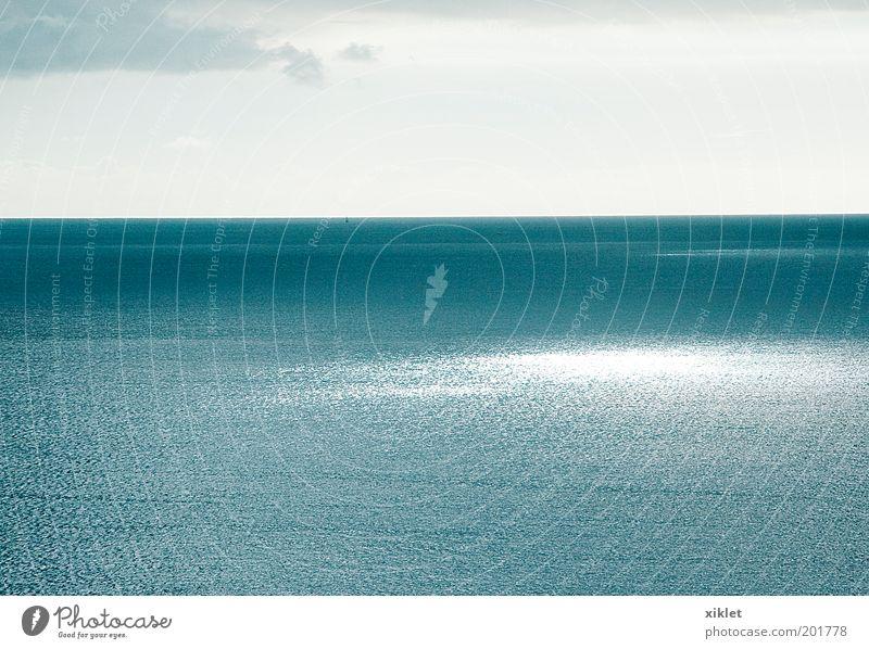 Natur blau grün weiß Wasser Meer Einsamkeit Erholung ruhig Wolken kalt Küste natürlich Wellen Wind Klima
