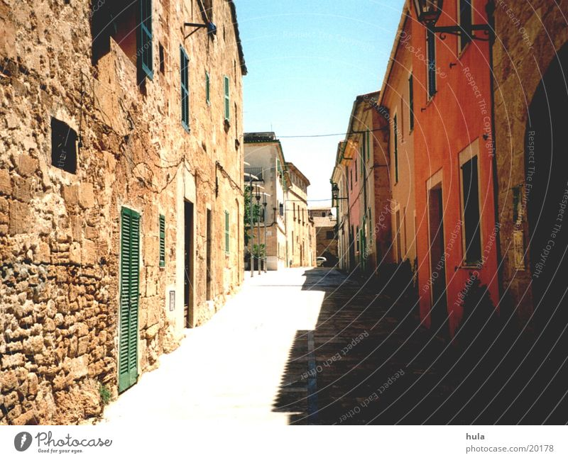 Alcúdia Europa Mallorca Gasse Alcudia