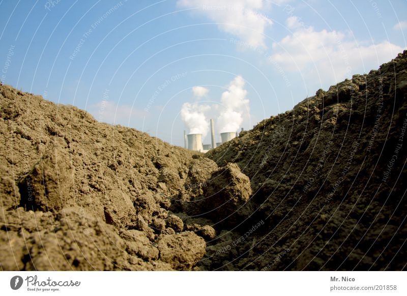erdwärme Kohlekraftwerk Energiekrise Umwelt Natur Erde Klima Klimawandel Schönes Wetter Zukunftsangst Wasserdampf Landwirtschaft Ackerbau Wachstum Produktion