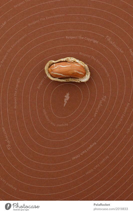 #A# Weicher Kern I Gesunde Ernährung Kunst offen ästhetisch lecker Kunstwerk Nuss Snack Erdnuss Nussschale nußbraun Erdnussernte