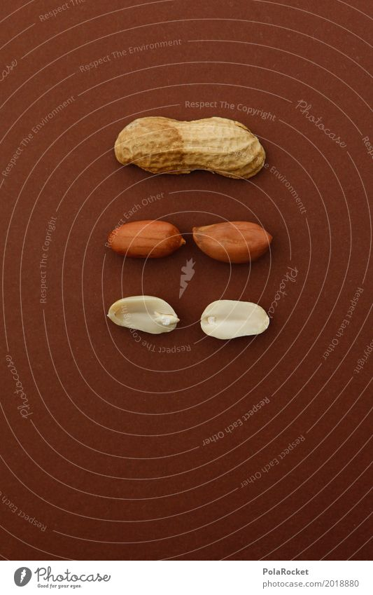 #A# Do Nut Yourself Kunst ästhetisch Kreativität Nuss Nussschale nußbraun Nussknacker Basteln selbstgemacht 3 Snack lecker Gesunde Ernährung Farbfoto