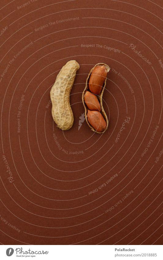 #A# Promo-Aktion Kunst ästhetisch Nuss Nussschale Nussknacker nußbraun 3 1 mehrere Bonus Kreativität Snack Erdnuss lecker Gesunde Ernährung Farbfoto
