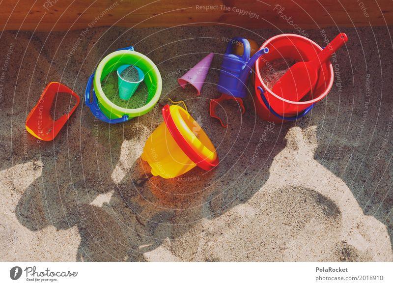 #AS# Sandkastenfreundschaft Kunst Kunstwerk ästhetisch Freundschaft bauen Spielen spielend Spielen verboten Ausstechform Kindheit Kindheitserinnerung