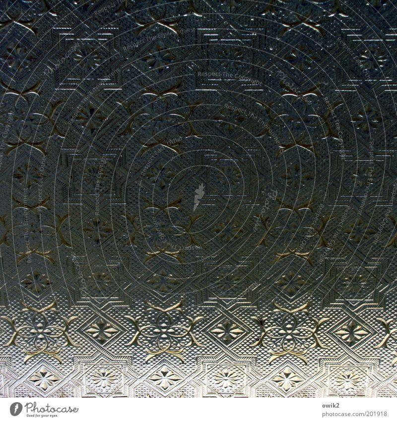 Altes Glas alt eckig elegant historisch schön Design einzigartig Genauigkeit Kitsch komplex Kreativität Präzision skurril Symmetrie Vergangenheit Ornament