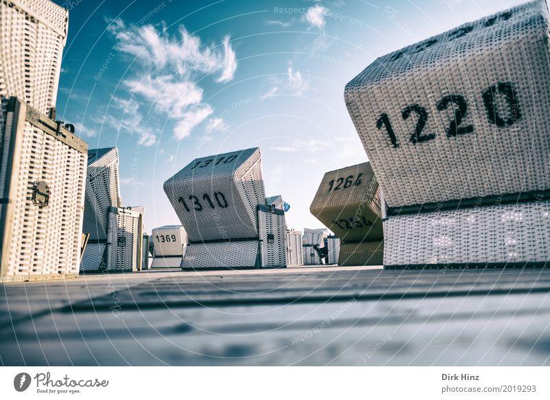 ausgerichtet Erholung Kur Ferien & Urlaub & Reisen Sonne Strand Meer Umwelt Natur Sand Schönes Wetter Küste Nordsee maritim Freizeit & Hobby Kurort Norden