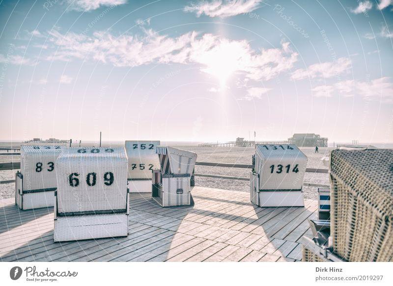 Sonnenseite Natur Ferien & Urlaub & Reisen Meer Erholung Ferne Strand Umwelt Küste Freiheit Tourismus Sand Horizont Aussicht Schönes Wetter Unendlichkeit