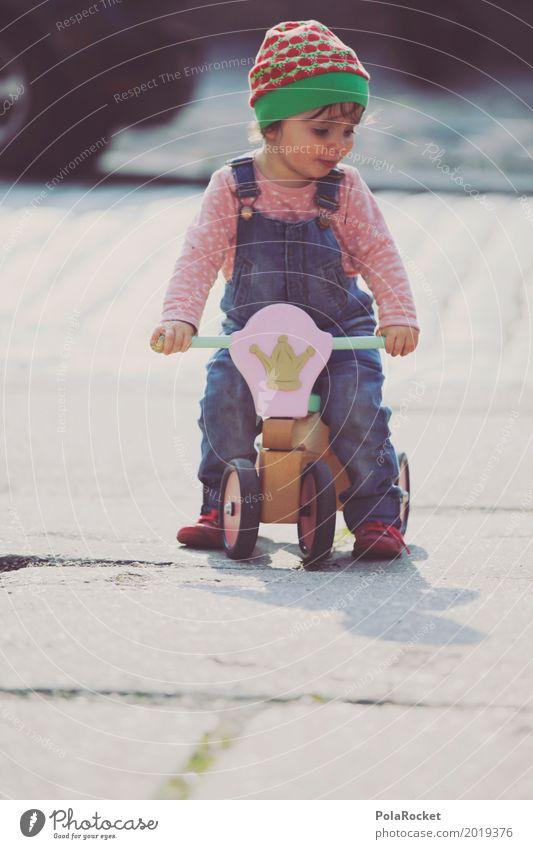 Erdbeermütze VIII Mensch feminin Kind Kleinkind Mädchen 1 ästhetisch niedlich Kindheit Kindergarten Kindheitserinnerung Kindererziehung Kinderspiel kinderleicht