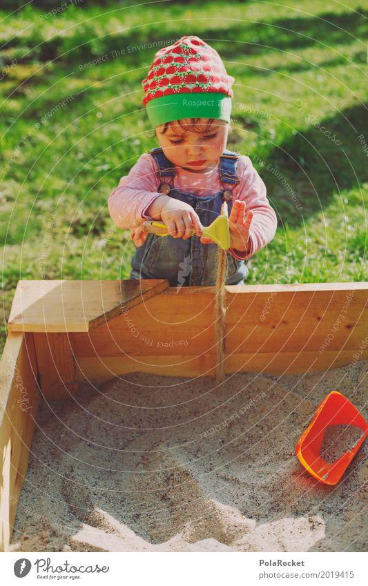 Erdbeermütze V Kunst ästhetisch Kind Kindheit Kindergarten Kindheitserinnerung Kindererziehung Kinderspiel kindlich kinderleicht Sandkasten Spielen spielend