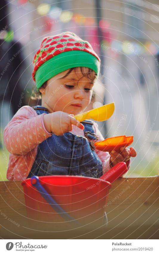 Erdbeermütze III Kunst ästhetisch Konzentration Kind Kindheit Kindergarten Kindheitserinnerung Kindererziehung Kinderspiel kindlich Spielen spielend festhalten