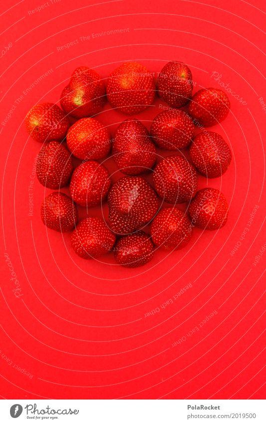 #A# Erdbeerwoche Kunst ästhetisch Erdbeeren Erdbeertorte Erdbeereis Erdbeersorten Erdbeermarmelade Erdbeerjoghurt Erdbeer Shake rot viele lecker