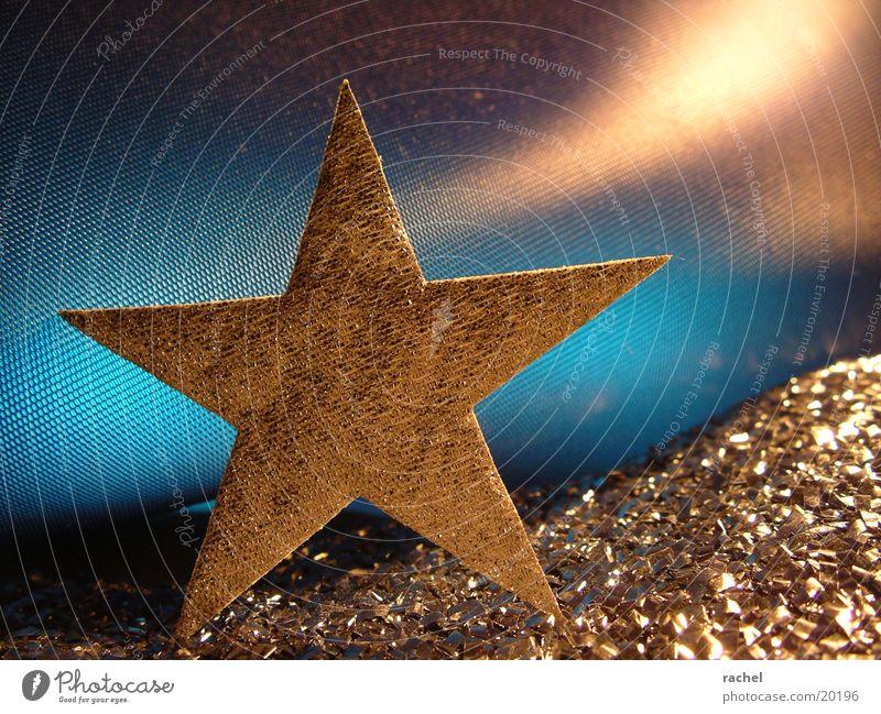 stern einfach so Weihnachten & Advent Feste & Feiern Metall Stern glänzend gold Dekoration & Verzierung Reichtum silber edel Weihnachtsdekoration festlich