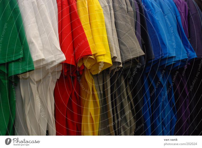 giggling garment Mode Bekleidung T-Shirt Stoff ästhetisch Fröhlichkeit frisch schön blau braun mehrfarbig gelb grau grün rot schwarz weiß Farbfoto Nahaufnahme