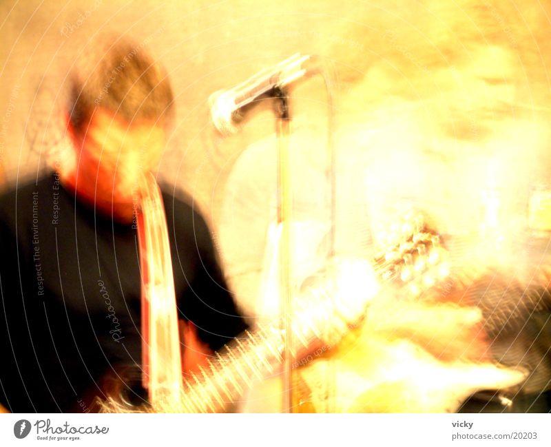 Proberaum Musik Menschengruppe Schnur Rockmusik Gitarre
