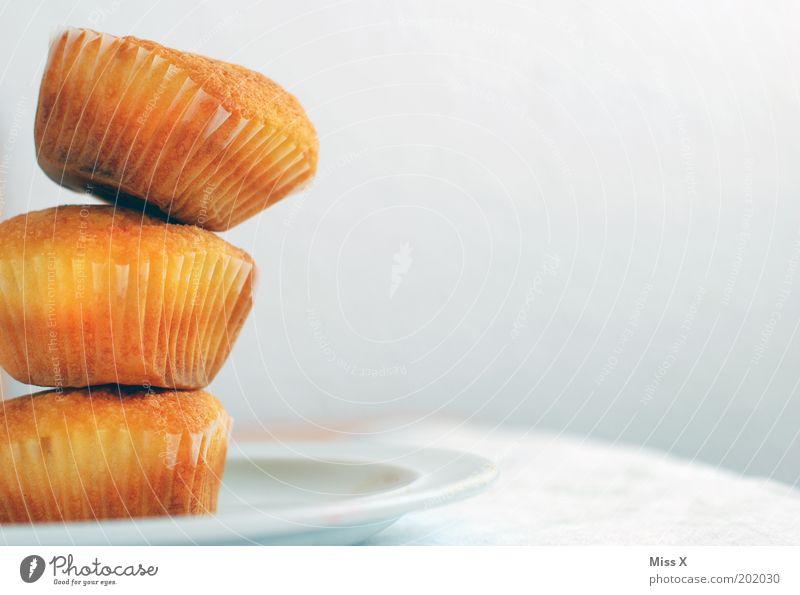 Muffins für Dorit Lebensmittel Teigwaren Backwaren Kuchen Dessert Süßwaren Ernährung Kaffeetrinken Büffet Brunch lecker saftig Farbfoto Gedeckte Farben