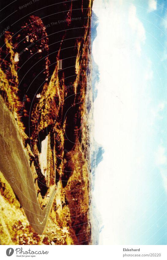 Schottland_08 Natur Berge u. Gebirge Landschaft Highlands