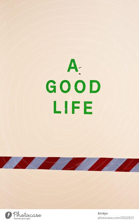 leider nicht für Alle Lifestyle Freude Glück Gesundheit Leben Wohlgefühl Zufriedenheit Freiheit Barriere Schriftzeichen einfach Ferne positiv Lebensfreude